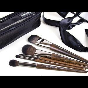 Sephora Makeup Make Up For Ever Lustrous Make Up Brush Set Poshmark